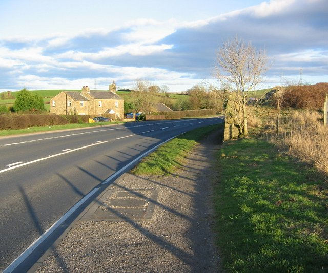 A683 approaching Denny Bank.
