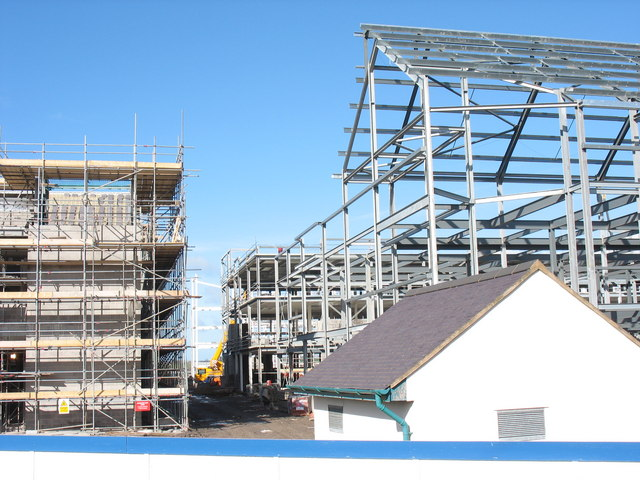 On site II - the Victoria Dock redevelopment project