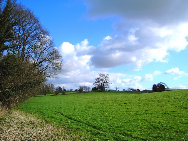 Footpath across field near Littleworth, Wiltshire