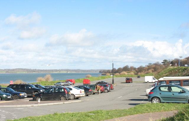 Car park off North Road