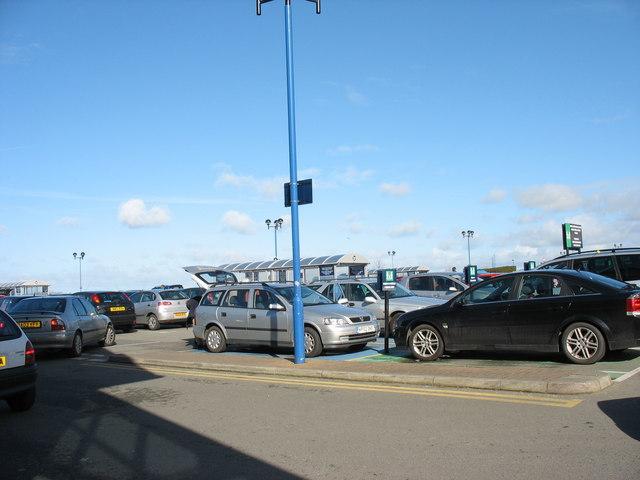 Morrison's Supermarket Car Park