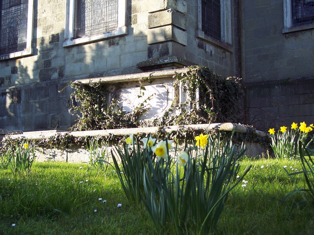 Tomb - Church of St Peter and St Paul, Blandford Forum