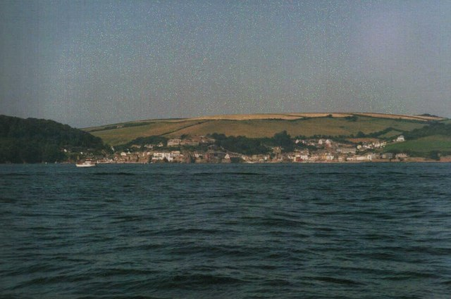 Kingsand and cawsand from the sea