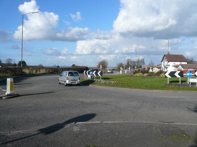 Royal Oak Roundabout View