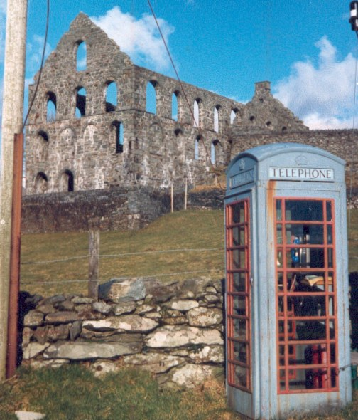 Mill and phone box