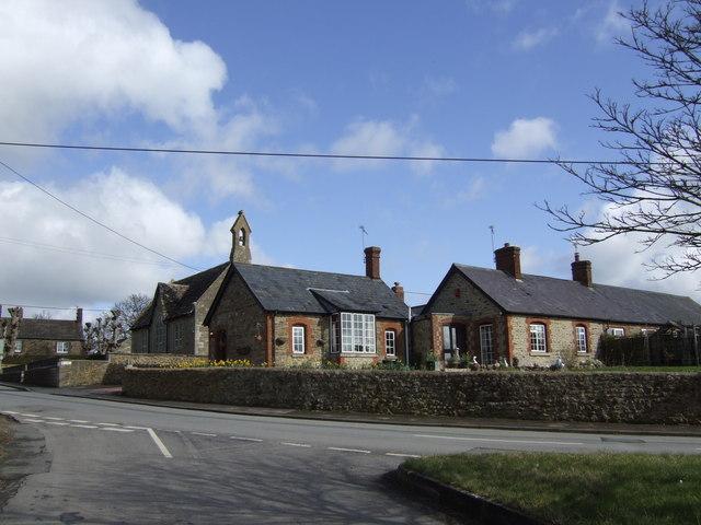 Hannington school buildings