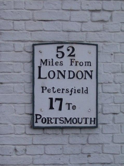 Milestone, Petersfield