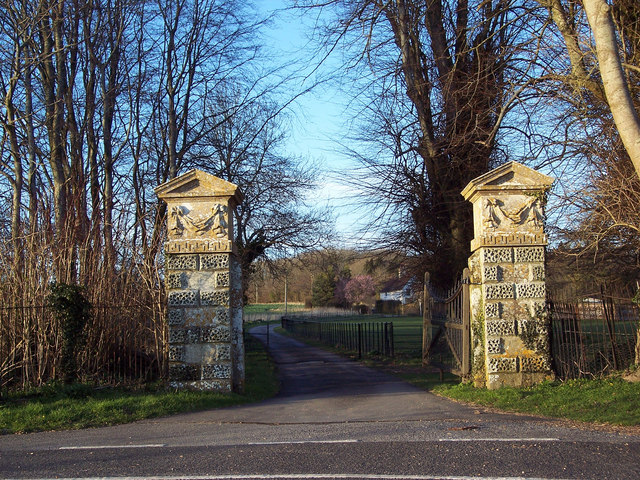 The gates to White Kennels
