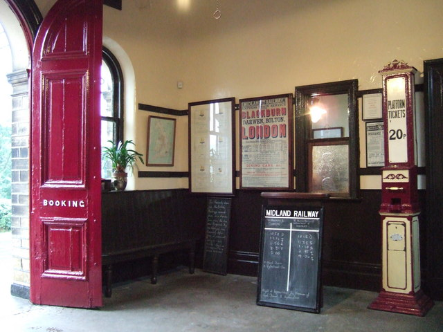 Booking Hall, Oakworth Station