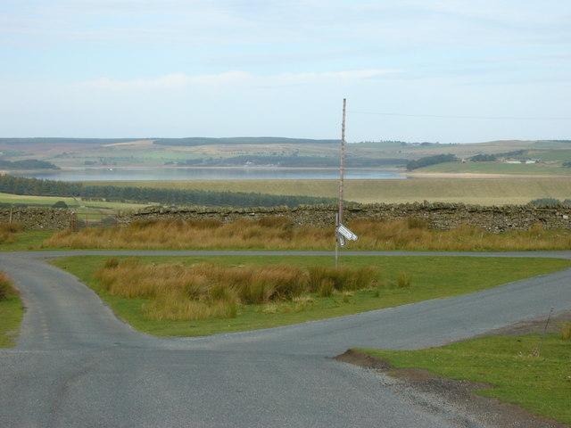 Road Junction near Muggleswick