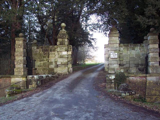 Entrance to Eastbury House