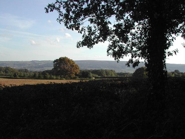 View SE towards Mendip
