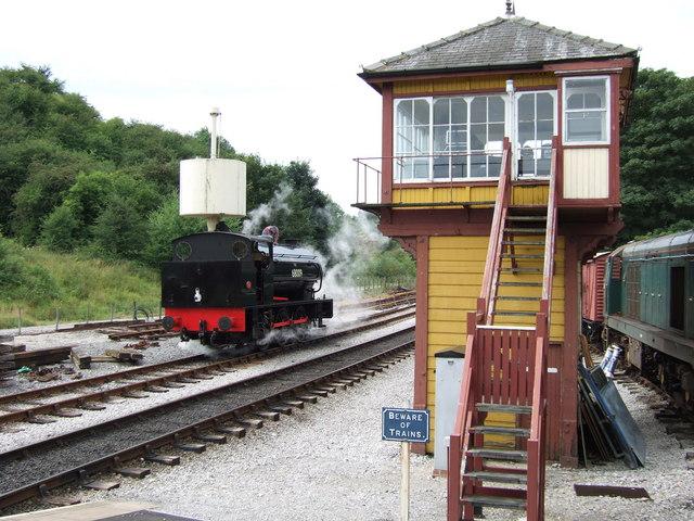 Bolton Abbey Signal Box