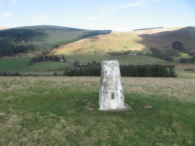 Law Hill trig point S3238