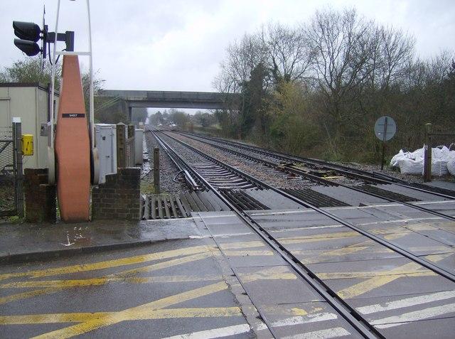 School Lane level crossing, Sheet
