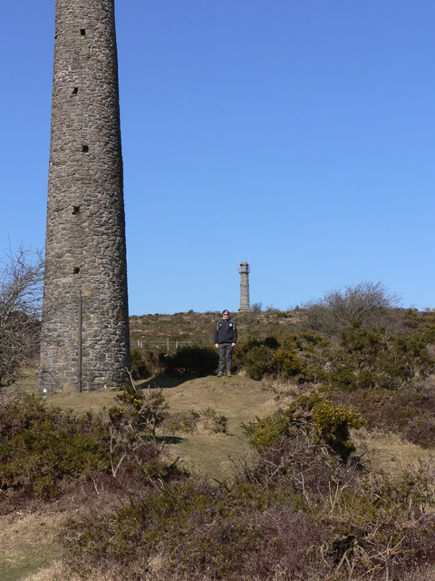 Kit Hill mine stacks