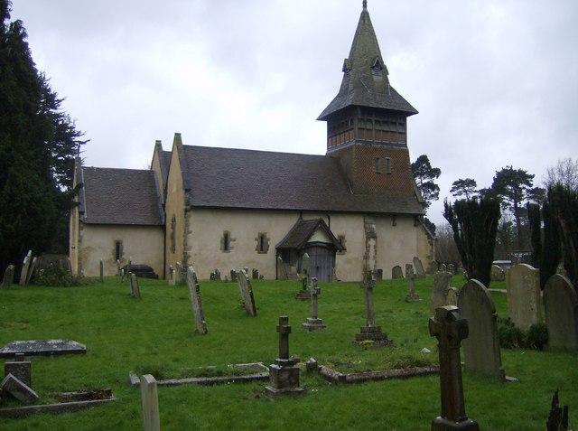 All Saints Church, Steep