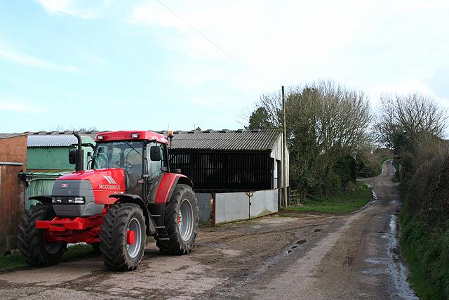 Morchard Bishop: Mear Farm