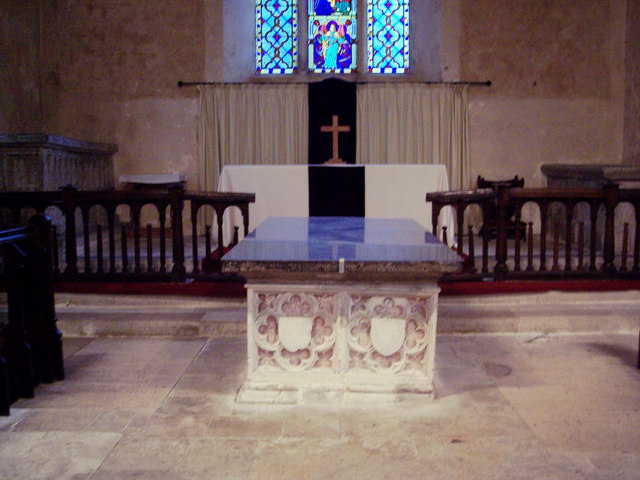 St George's Church, Trotton - Tomb