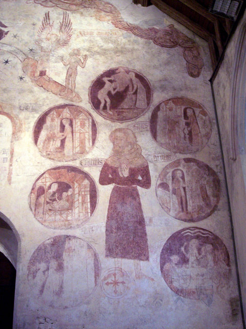 St George's Church, Trotton - Wall Paintings