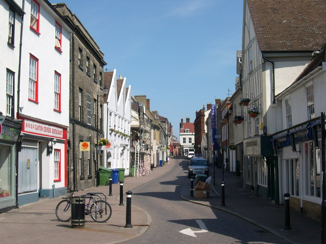 Hatter Street, Bury St Emunds, Suffolk