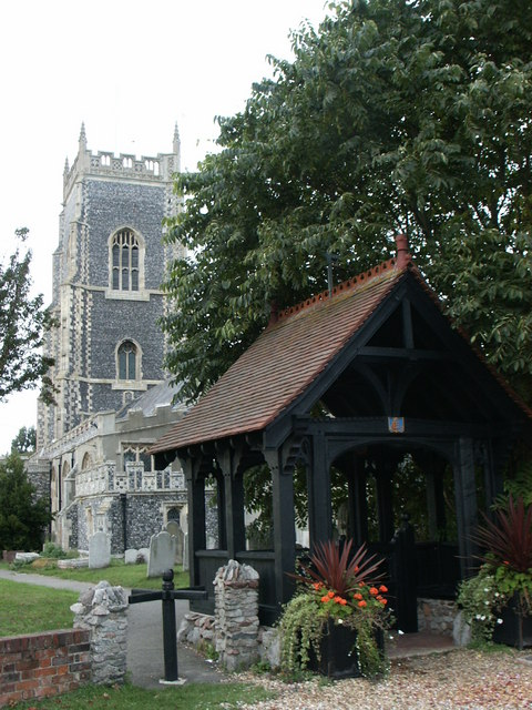 All Saints Church and Lych Gate, Brightlingsea