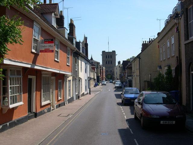 Churchgate Street, Bury St Edmunds, Suffolk