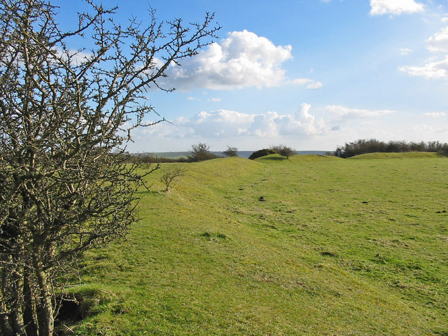 Chiselbury ancient site Whiltshire