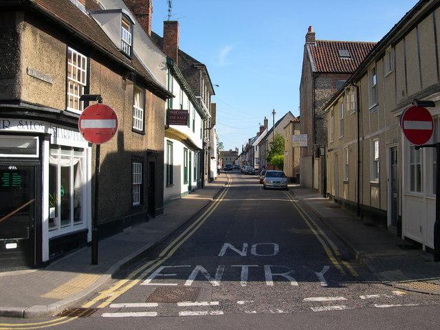 College Street, Bury St Edmunds, Suffolk