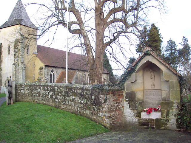 St George's Church and War Memorial, Trotton