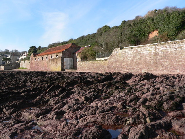 Pilchard salting shed Cawsand