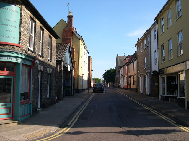 Whiting Street, Bury St Edmunds, Suffolk