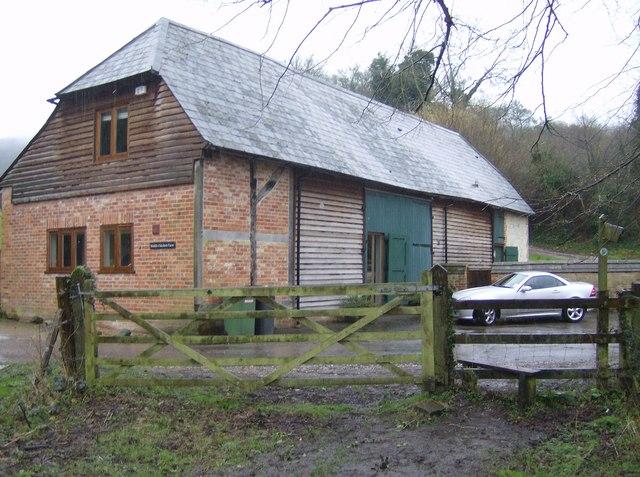 Barn conversion at Oakshott