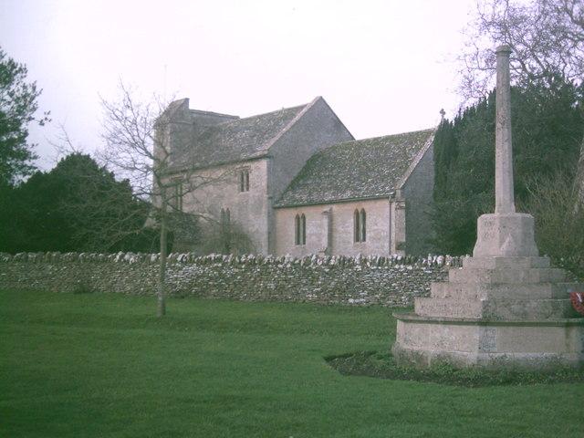 St. George's church, Kencot, January 2007
