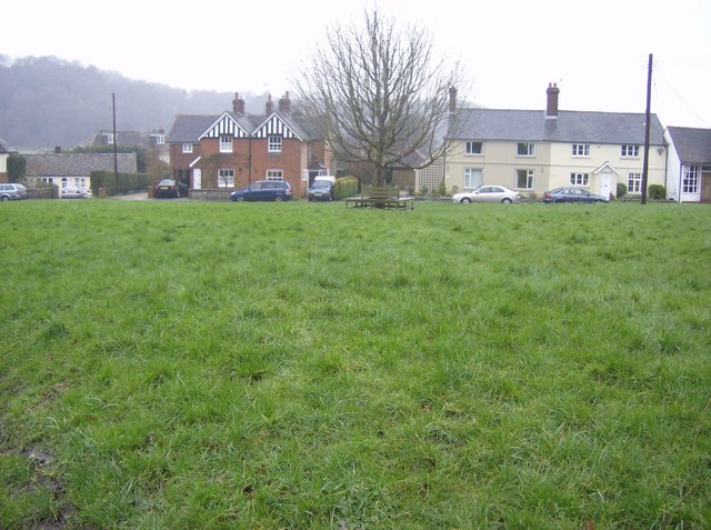 Hawkley village green