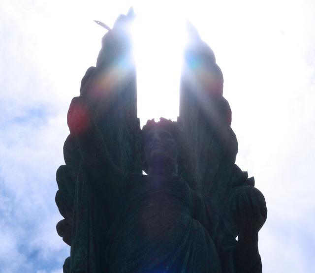 Peace statue, Brighton seafront.