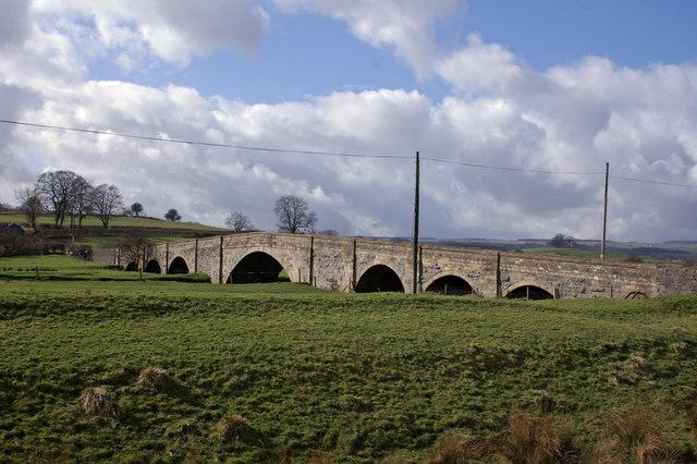 Cow Bridge viewed from Flat Lane