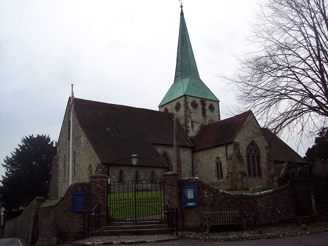 The Church of St Mary and St Gabriel, South Harting
