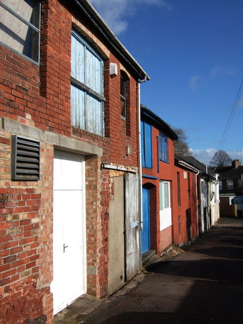 Buildings at rear of Old Mill Road
