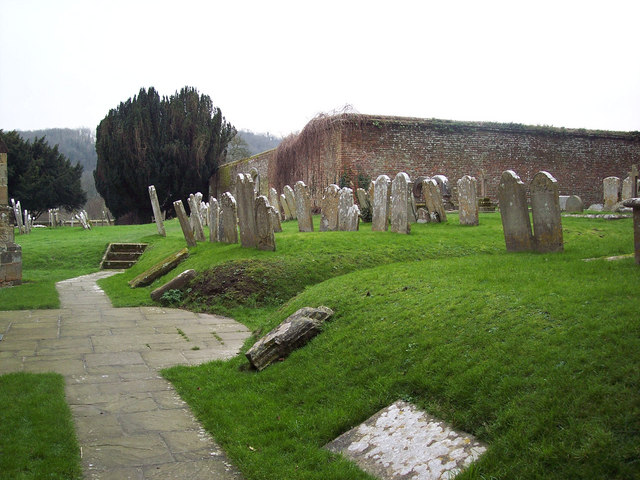 Churchyard at St Mary and St Gabriel, South Harting