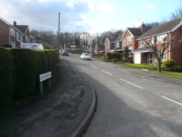 Ashton Gardens - Junction with Woodlands Way