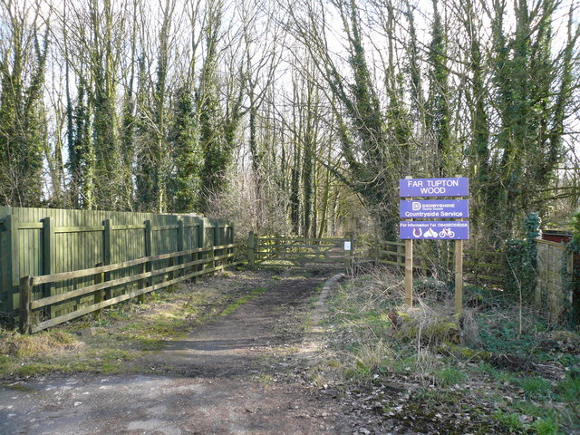 Far Tupton Wood Entrance