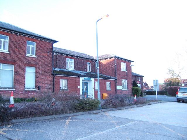 Admin building, Pembury Hospital