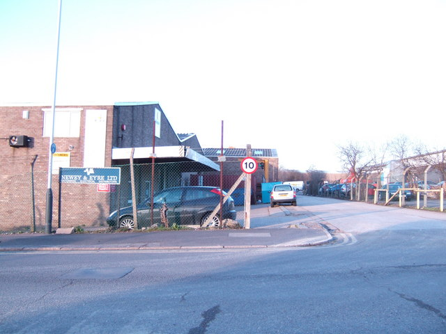 Industrial units north of Tunbridge Wells