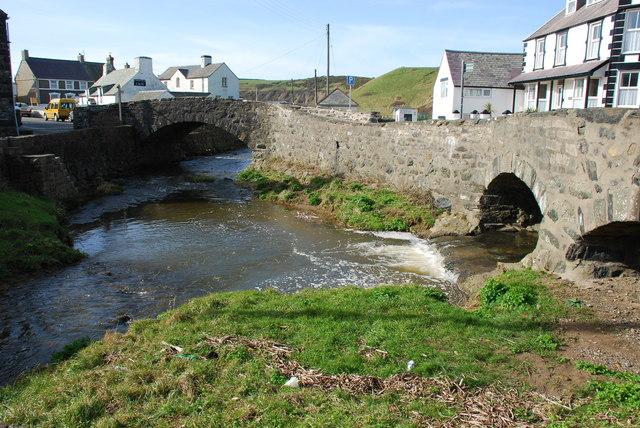 Afon Cyll y Felin & Afon Daron Aberdaron