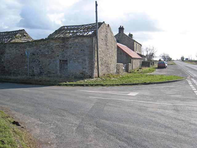 Drover House on the A68