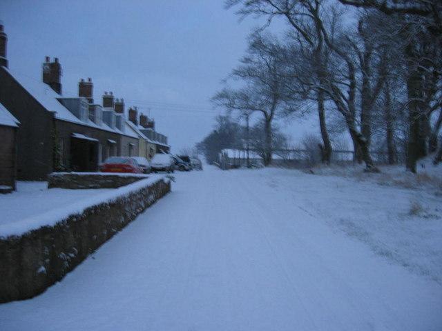 Hilton in the Winter
