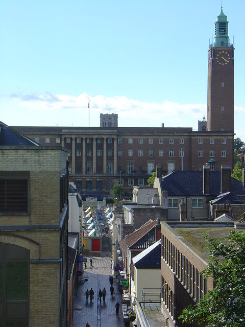 City Hall, Norwich