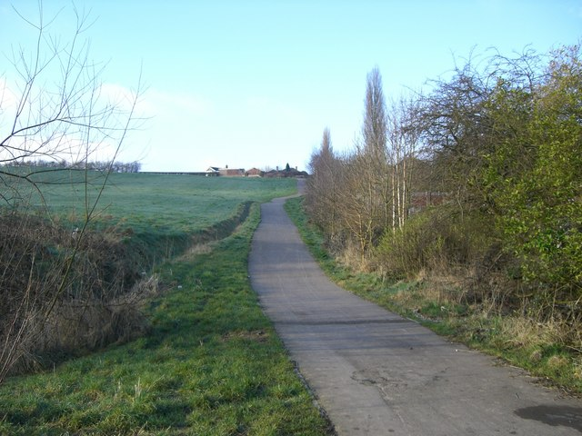 National Cycle Route 55 at Sneyd Green