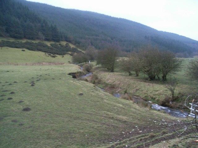 Stream from Llandegla Forest